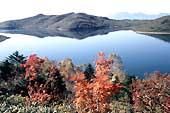 野反湖の秋