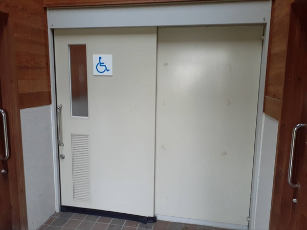 「ノゾリキスゲ」隣接・身障者用トイレ・ウォシュレット完備